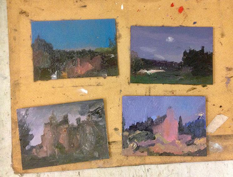 Winter at Open Eye Gallery