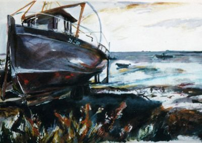 Boat at Greencastle