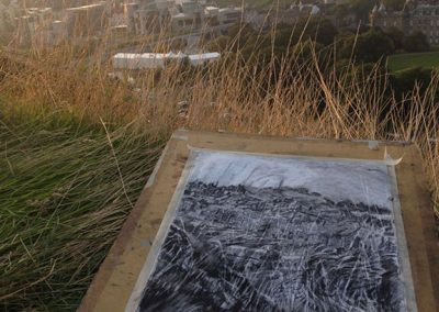 Drawing II From Holyrood Park