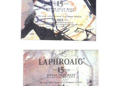 Laphroaig Labels