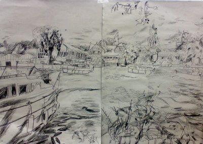 Thames at Henley (detail)