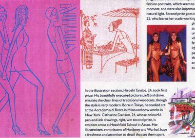 Vogue Award for Illustration