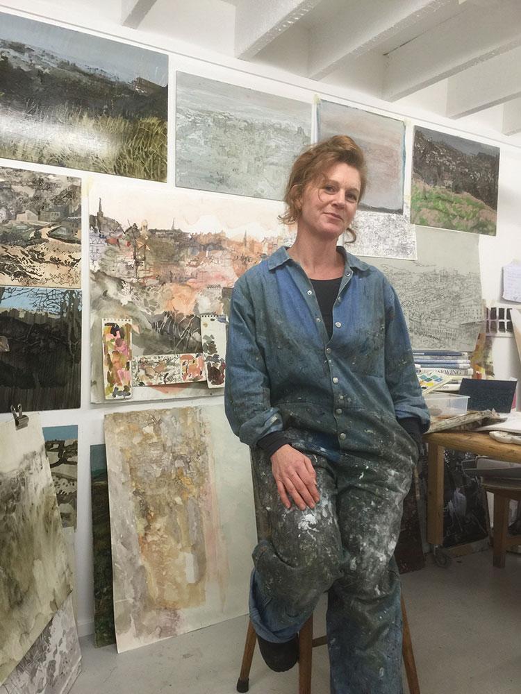 Catharine Davison, Studio