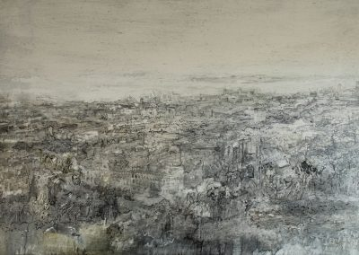 Beyond Land, (from Calton Hill)