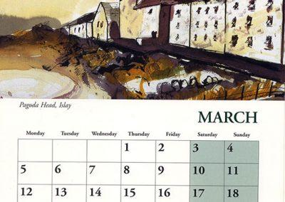 Calendar 2001 March