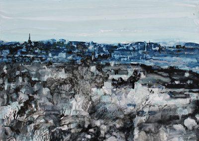 Dusk, (from Blackford Hill)