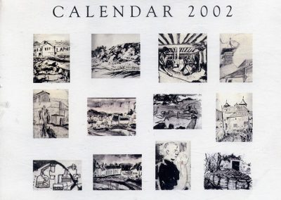 Laphroaig 2002 Calendar