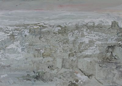 Playing in the Rubble, (from Calton Hill)