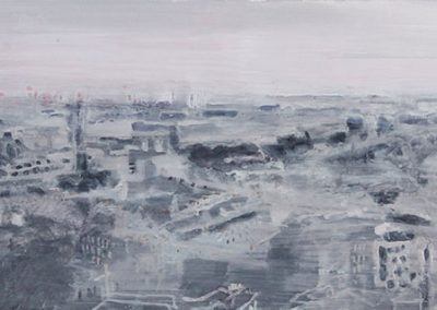 Sea Harr at dawn, (from Calton Hill)
