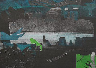 Thames, after Matisse