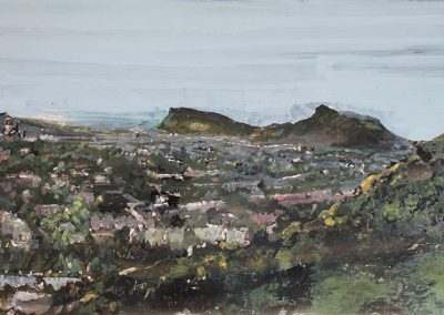 The Craggs, (from Blackford Hill)